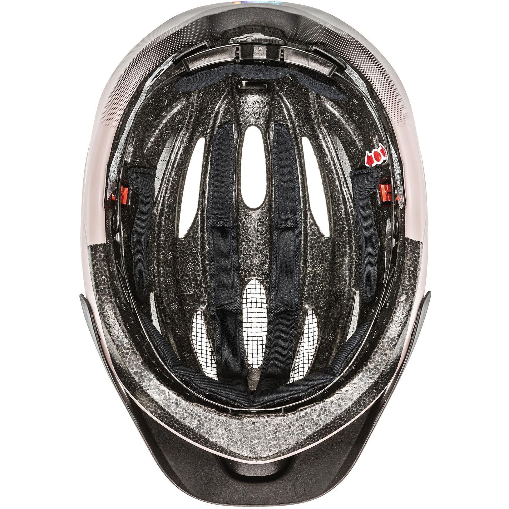 Image of Uvex true cc Helmet - dust rose-black mat