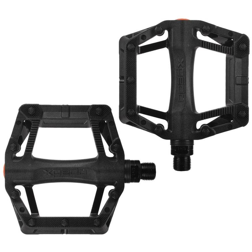 Xpedo Juvee Flat Pedal - schwarz
