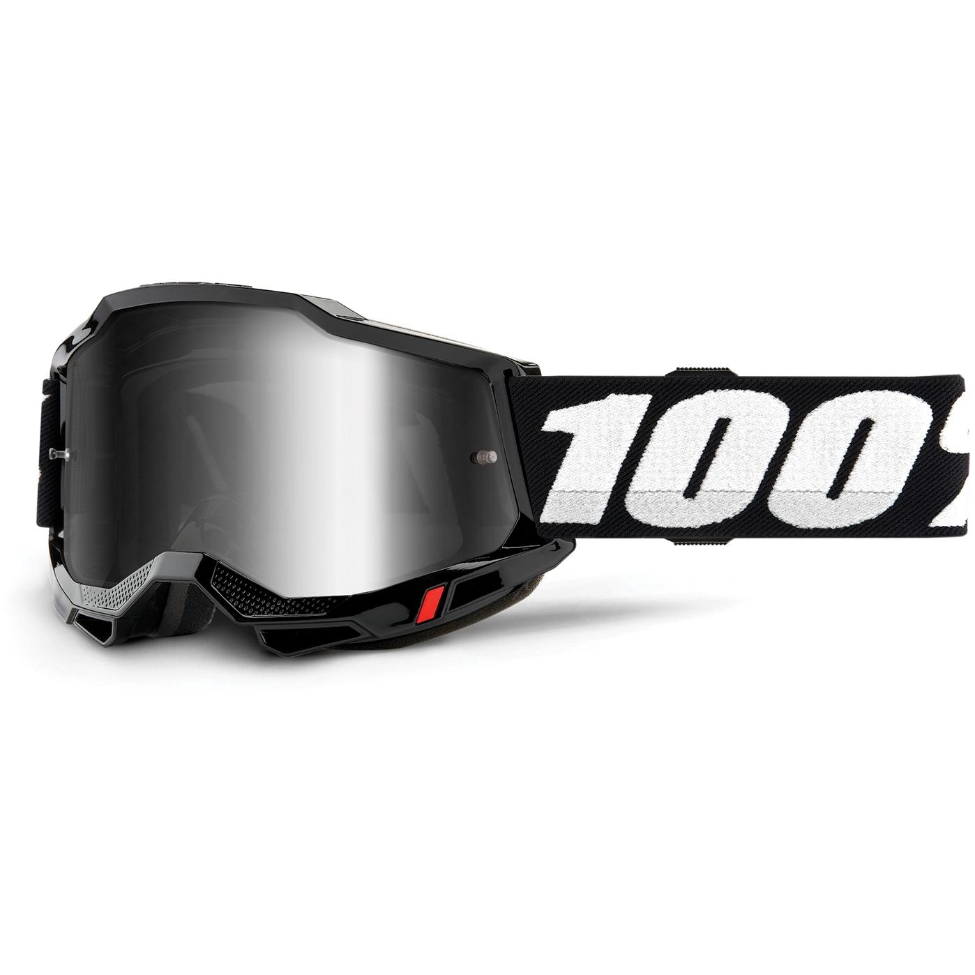 100% Accuri 2 Goggle Mirror Lens Gafas - Black