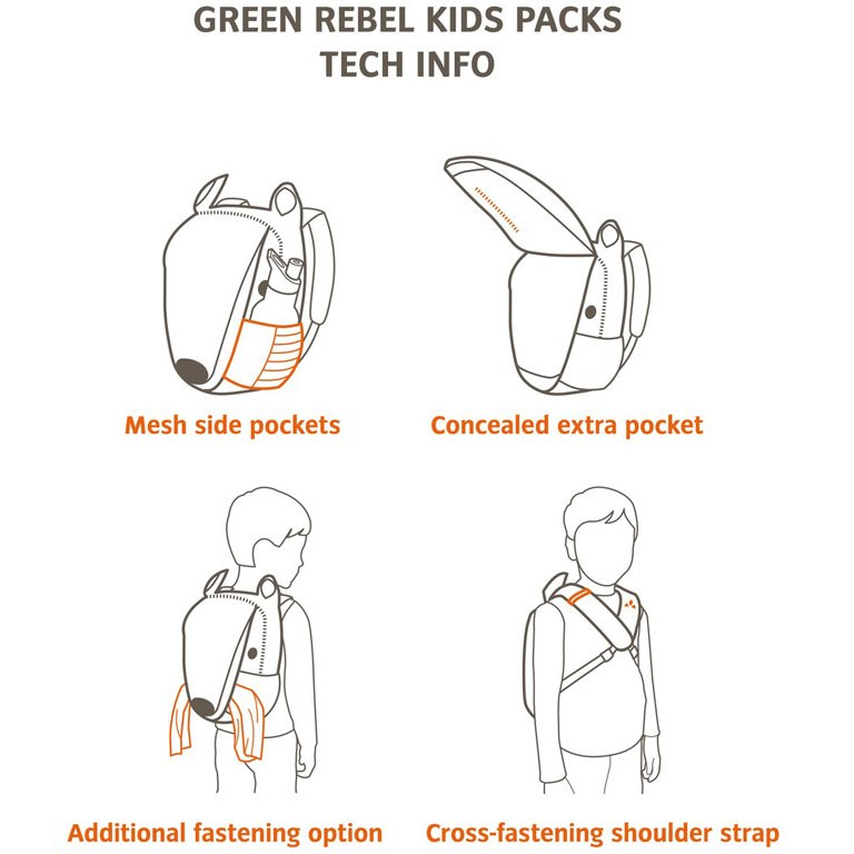 Image of Vaude Stupsi Kids Backpack - peanut butter