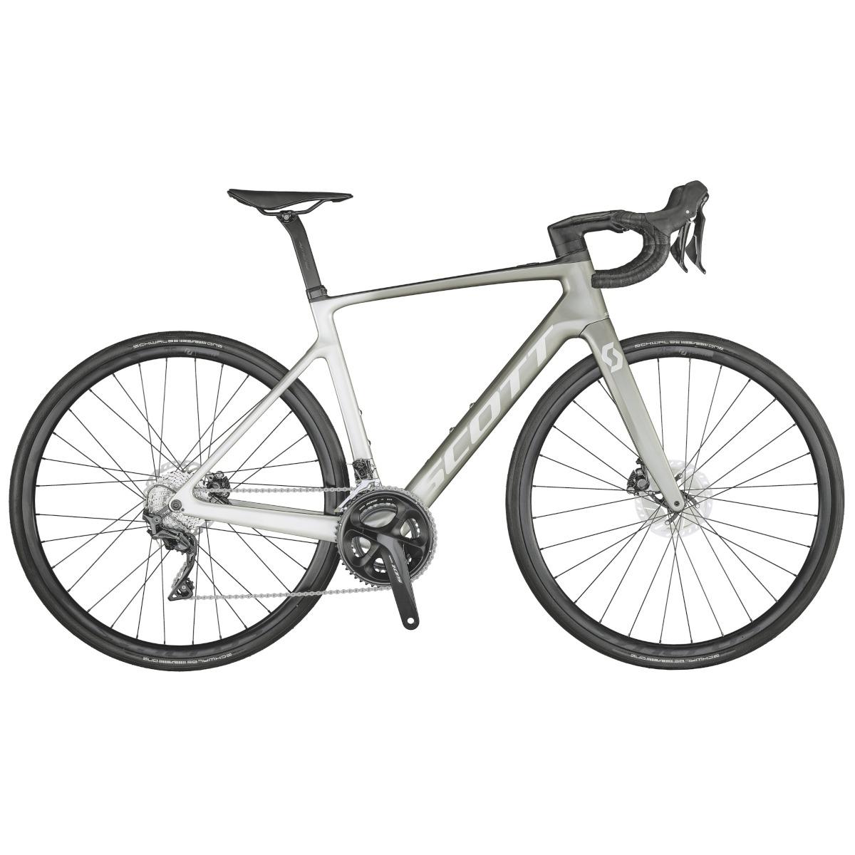 Produktbild von SCOTT ADDICT eRIDE 20 - Carbon Rennrad E-Bike - 2021 - vogue silver fade