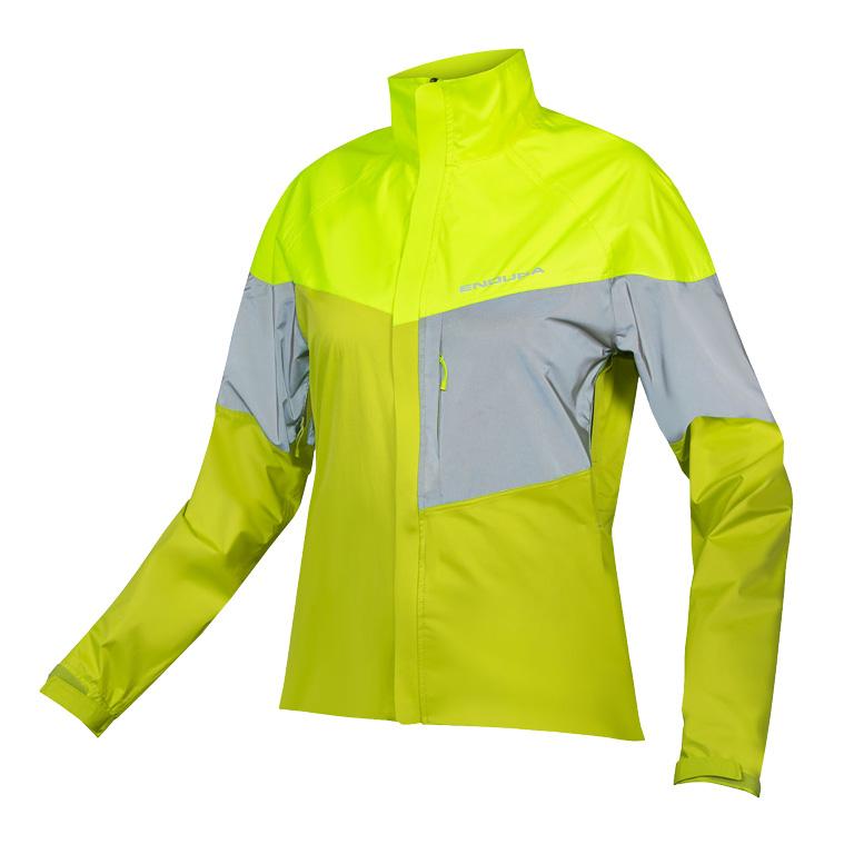 Endura Women's Urban Luminite Jacket II - hi-viz yellow/reflective
