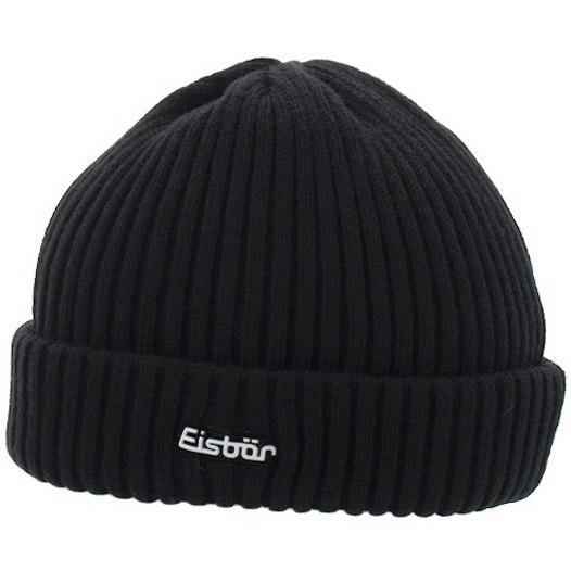 Eisbär Ripp Beanie - black 009
