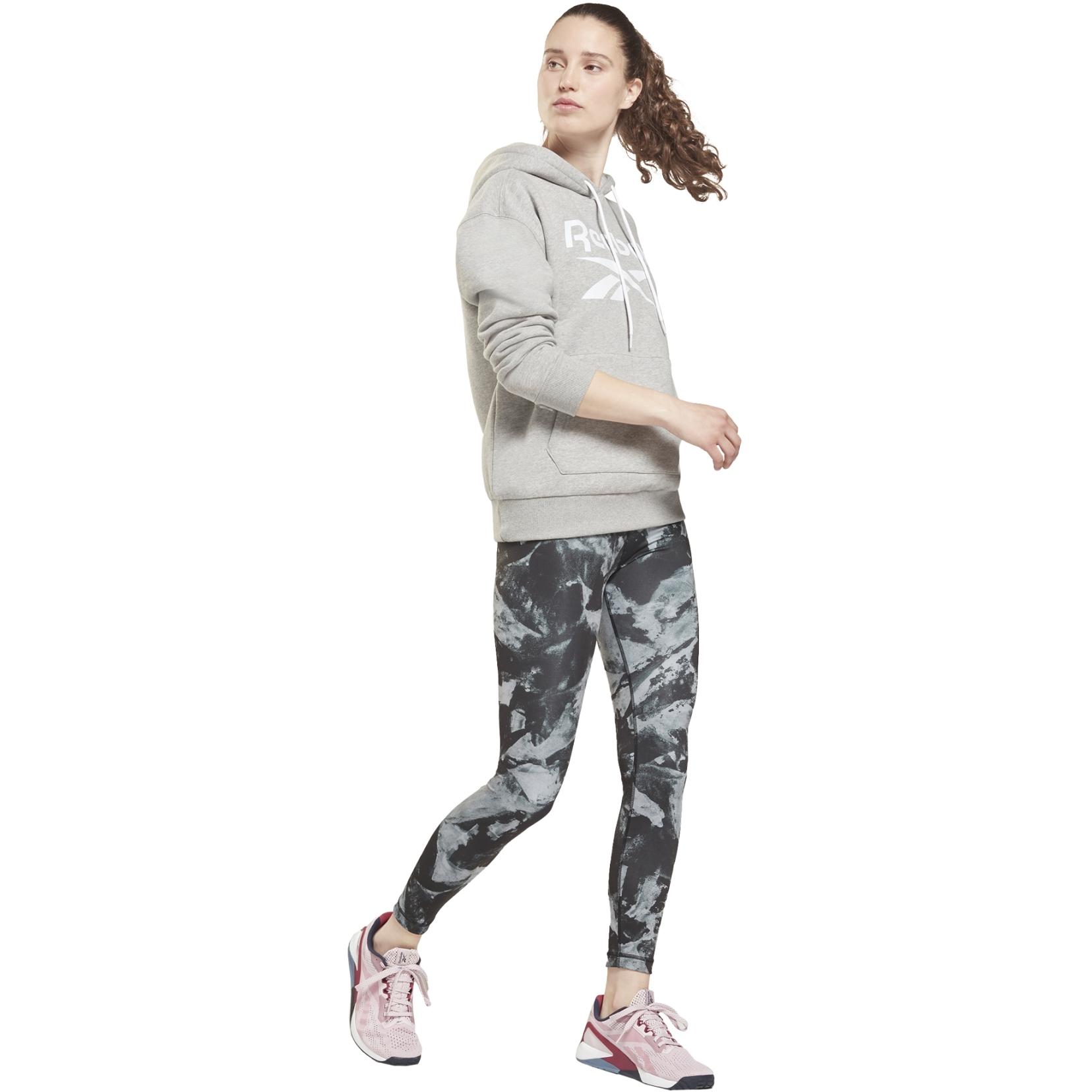 Image of Reebok MYT Printed Leggings Women's Tights - black