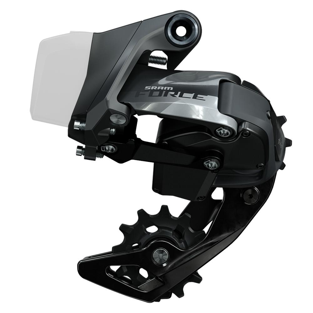 SRAM Force eTap AXS Rear Derailleur 2x12 - short cage - grey gloss