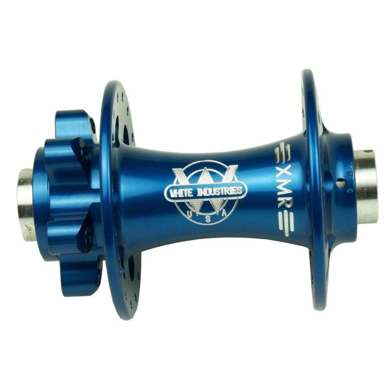 White Industries XMR Vorderradnabe - Disc - 15x100mm | QR 9x100mm - blau