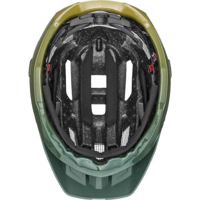 Image of Uvex quatro Helmet - forest - mustard