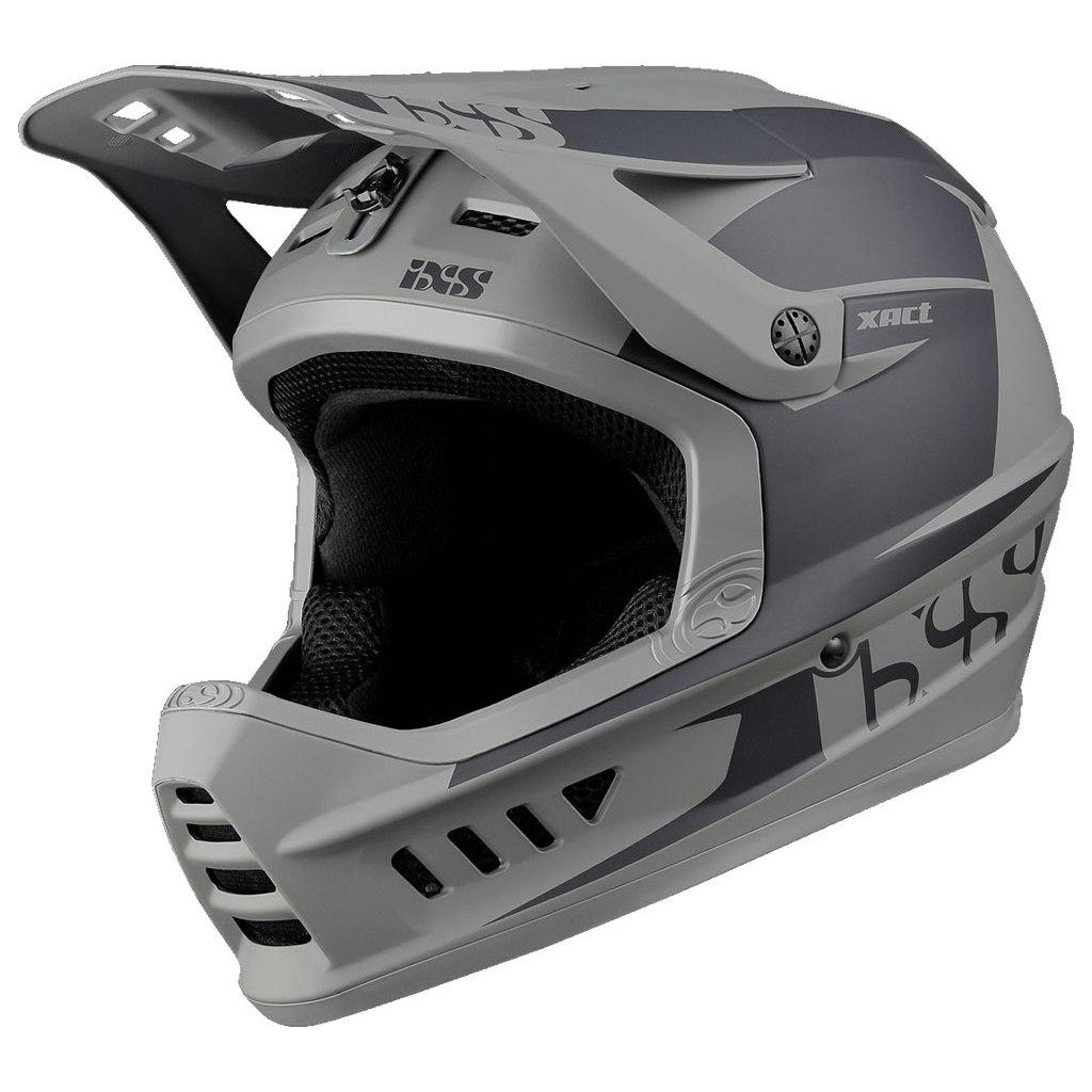 iXS Xact Evo Fullface Helmet - black/graphite