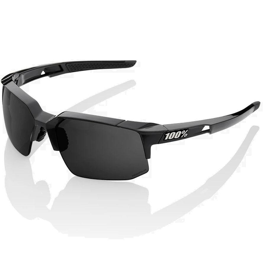 100% Speedcoupe - PeakPolar Lens Gafas - Polished Black