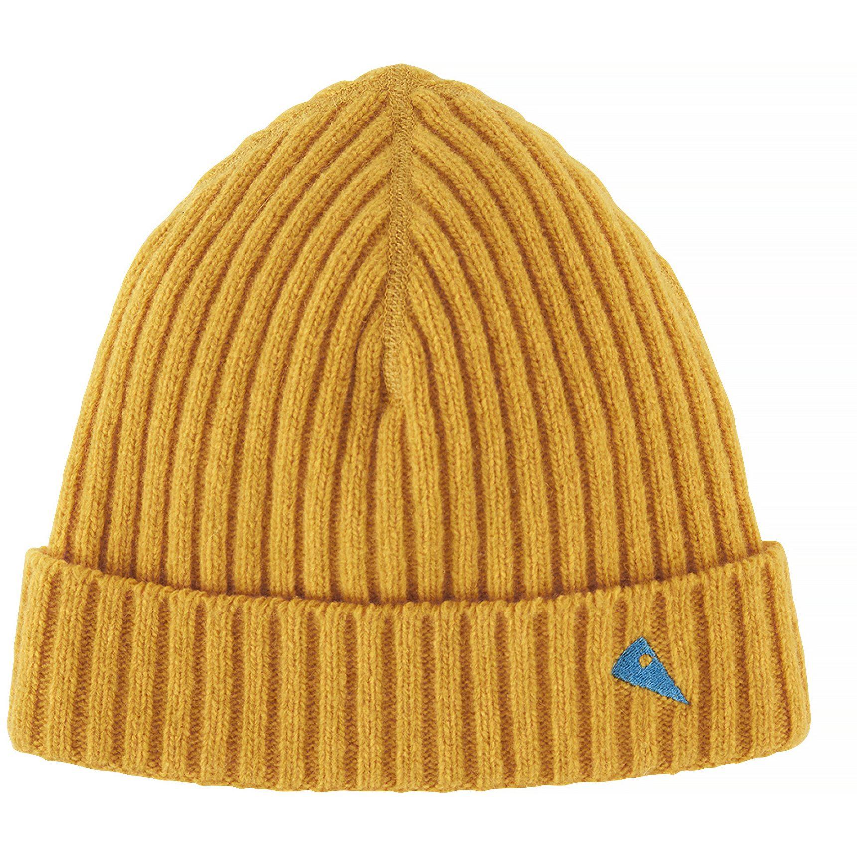 Picture of Klättermusen Barre Ribbed Cap - Sun Yellow