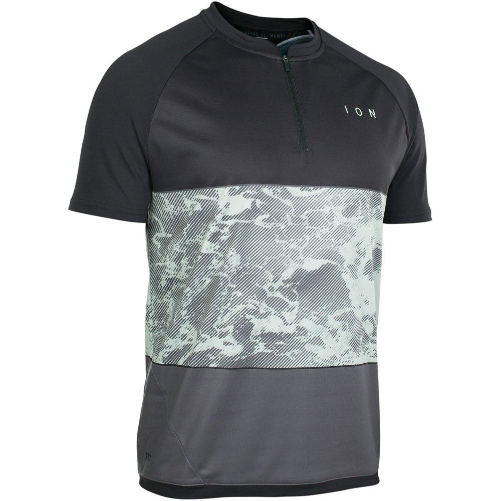 ION Bike Tee Half Zip Short Sleeve Traze Amp Jersey - black