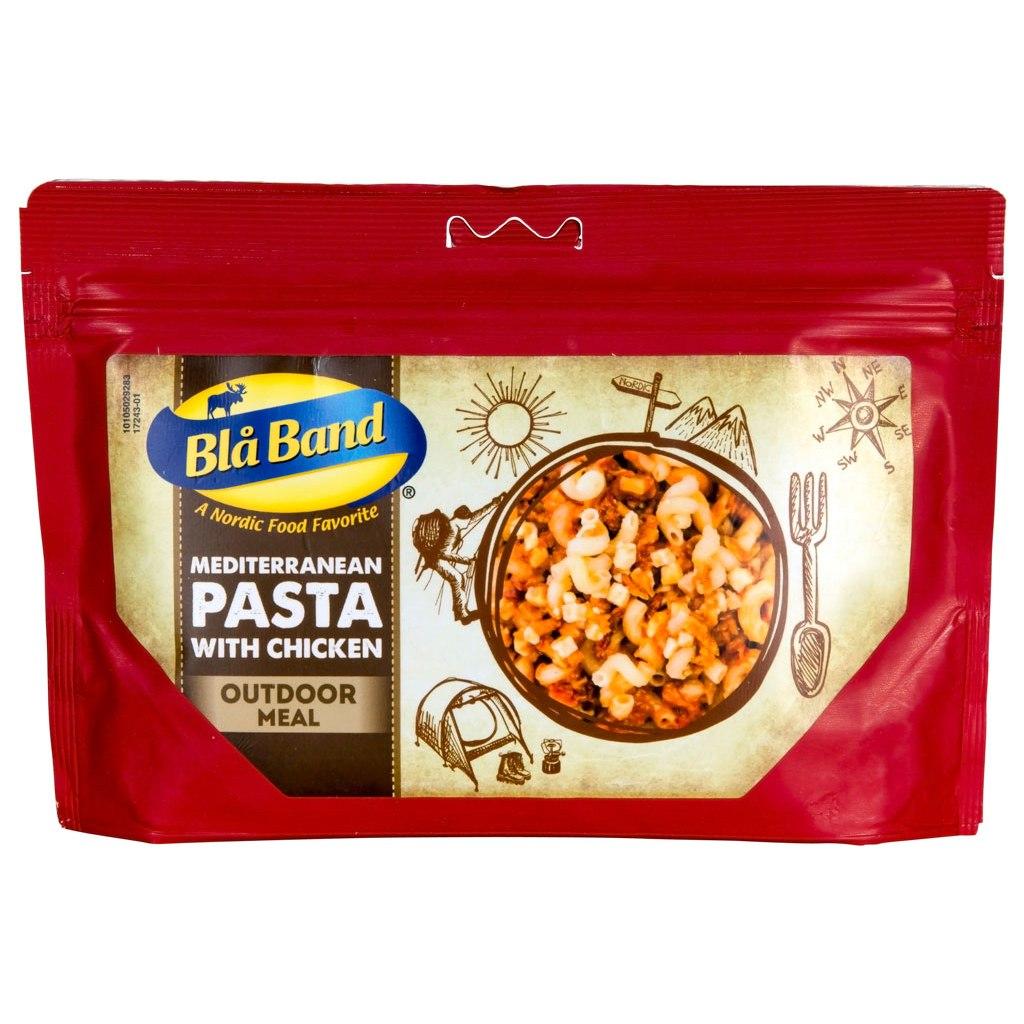 Blå Band Mediterranean Pasta with Chicken - Outdoor-Meal - 151g