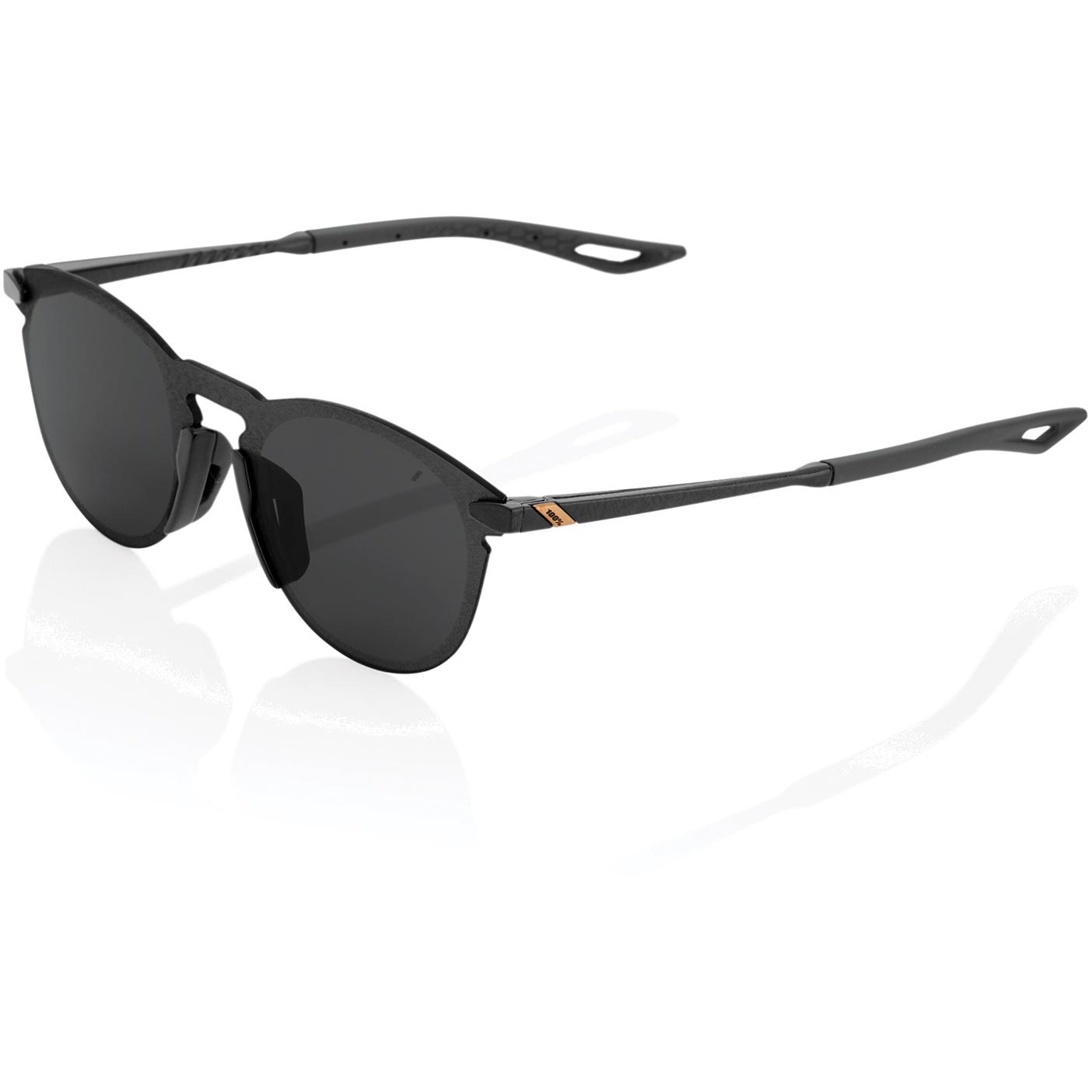 Imagen de 100% Legere UltraCarbon round Gafas - Smoke Lens - Polished Black