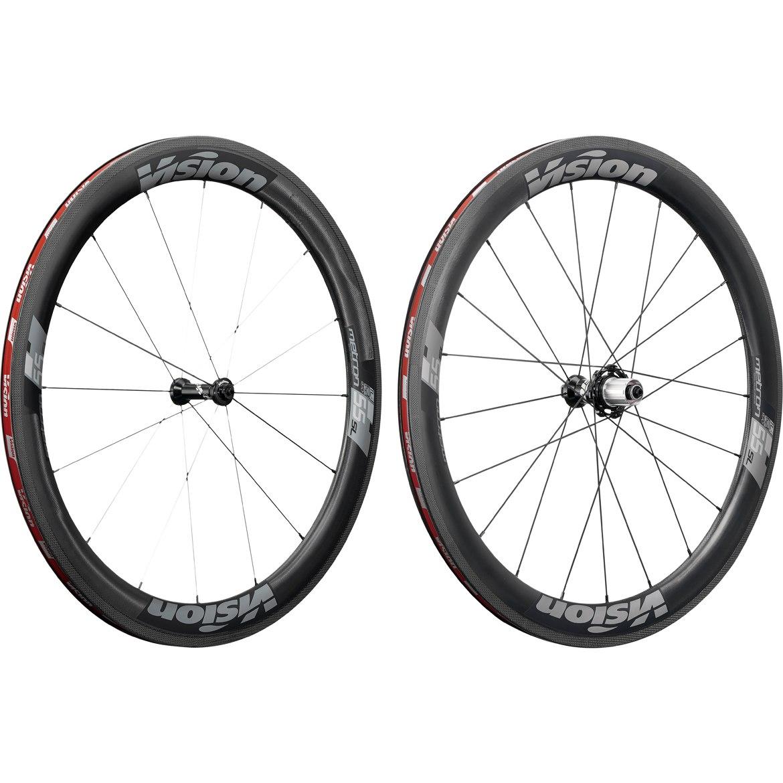 Vision Metron 55 SL Carbon Laufradsatz - Tubeless Ready - Drahtreifen - Shimano HG