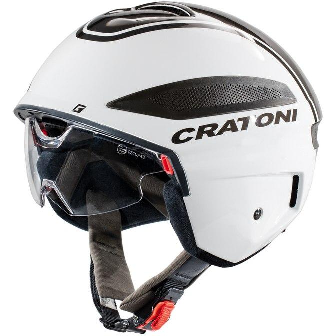 CRATONI Vigor Helmet - white-anthracite glossy