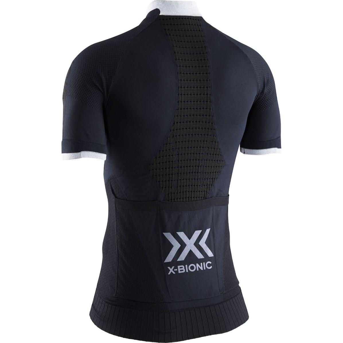 Bild von X-Bionic Invent 4.0 Bike Race Zip Kurzarmtrikot für Damen - opal black/arctic white