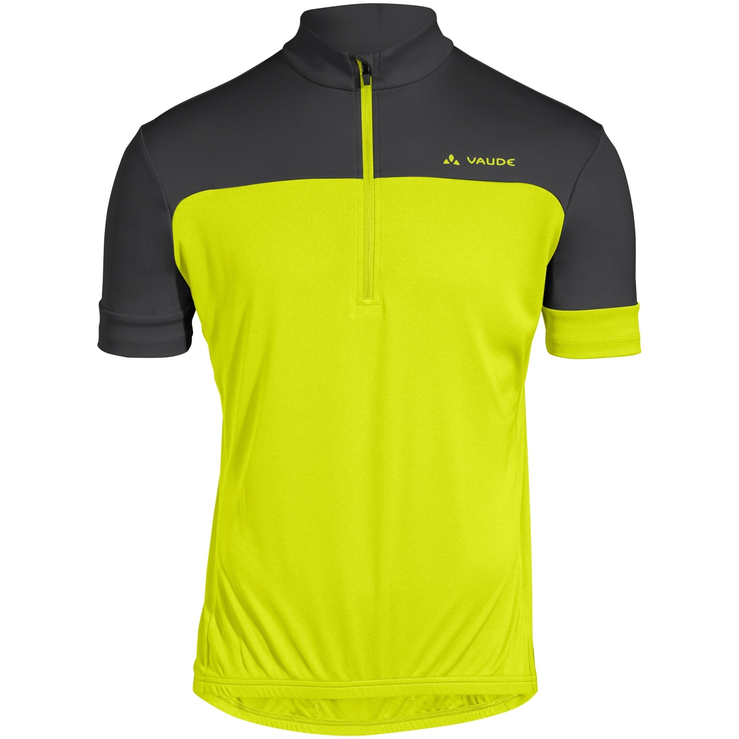 Vaude Men's Mossano T-Shirt V - bright green/black