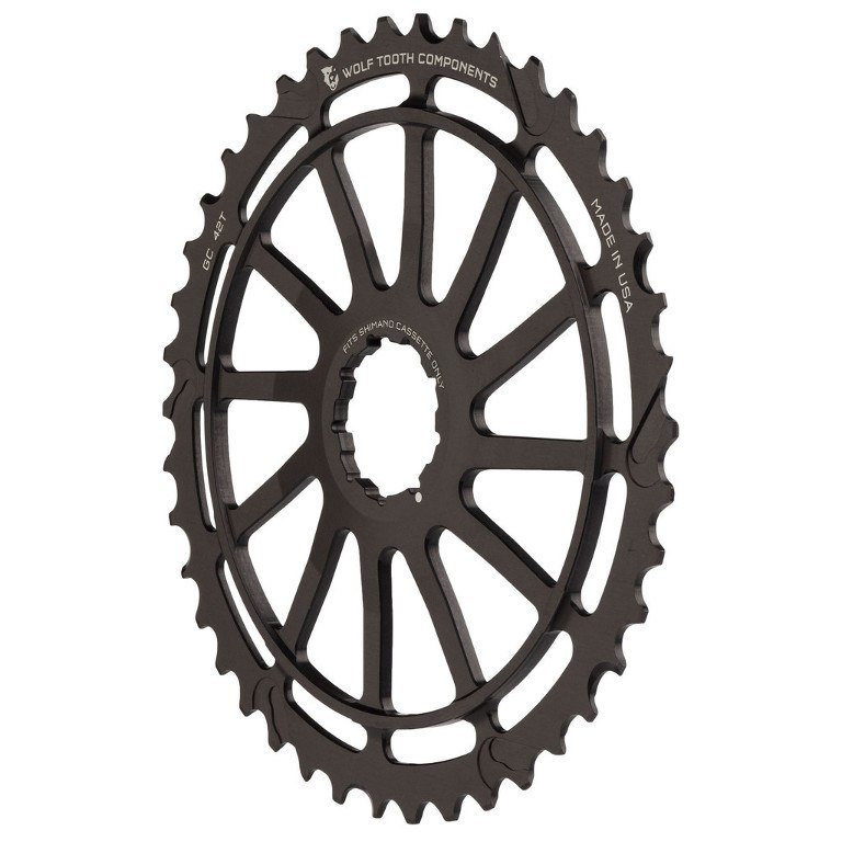 Image of Wolf Tooth 42T GC Cog for Shimano - Cassette Extension Sprocket - black