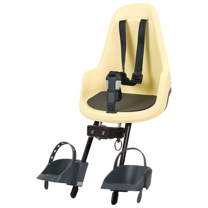 Image of Bobike GO mini Child Bike Seat - Lemon Sorbet