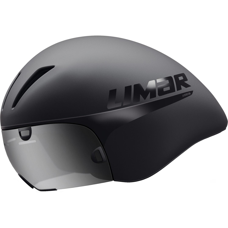 Limar Air King Helm - mit Visier - Matt Black