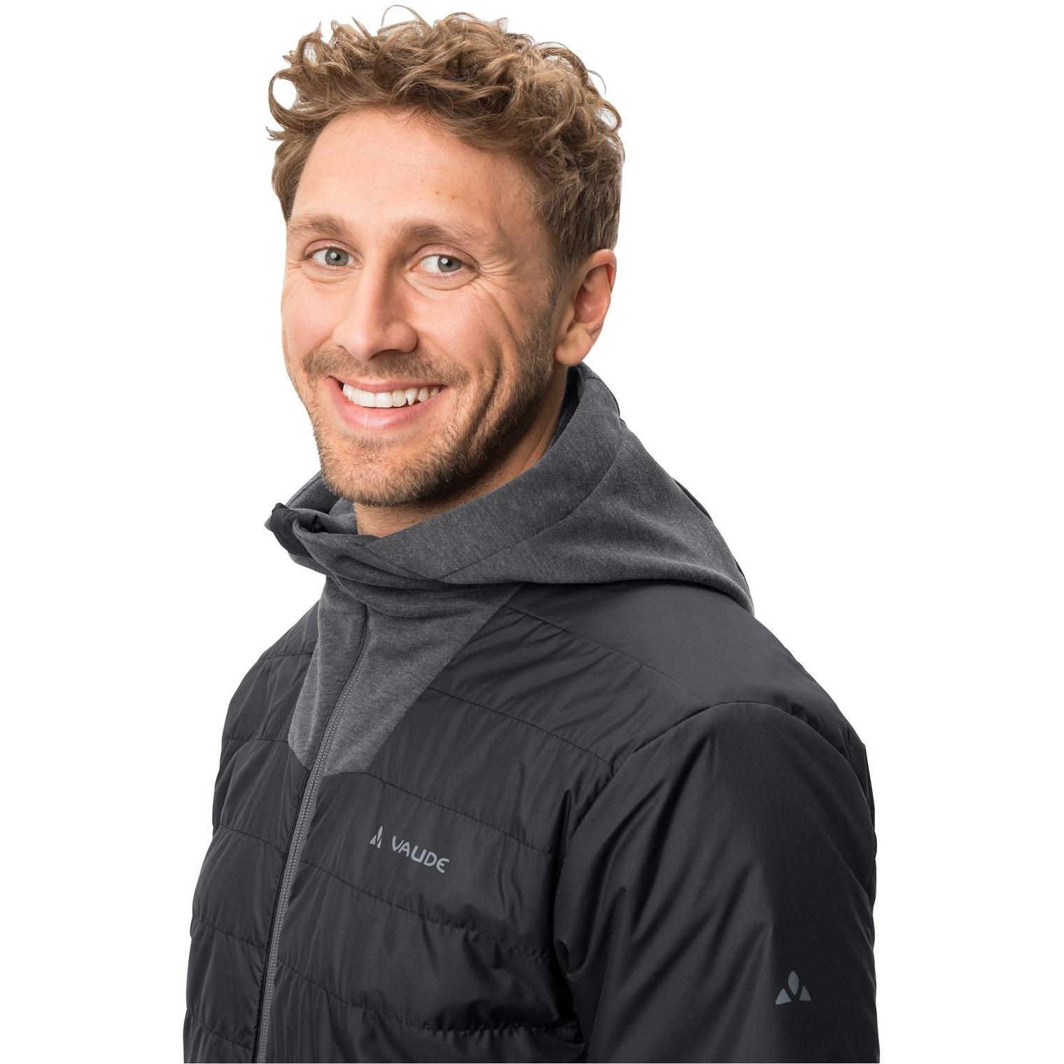 Image of Vaude Men's Cyclist Hybrid Jacket - black