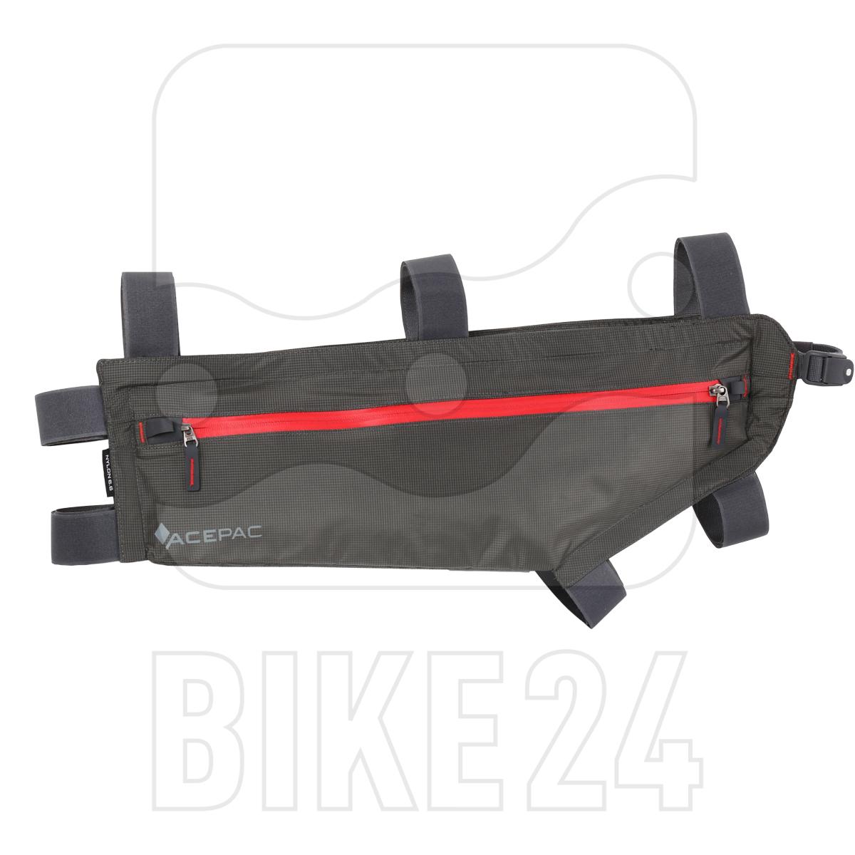 Acepac Zip Frame Bag Size L - grey