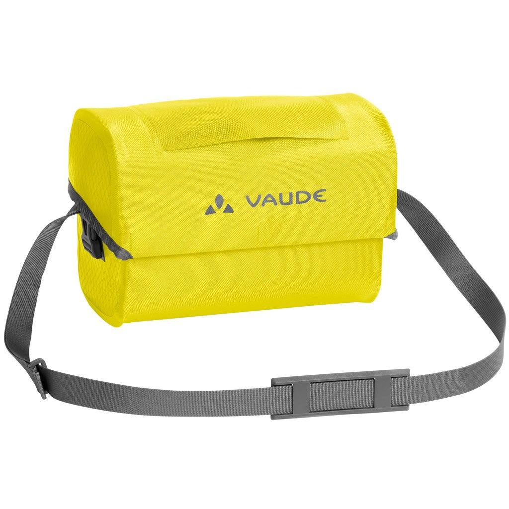 Vaude Aqua Box Handle Bar Bag - canary