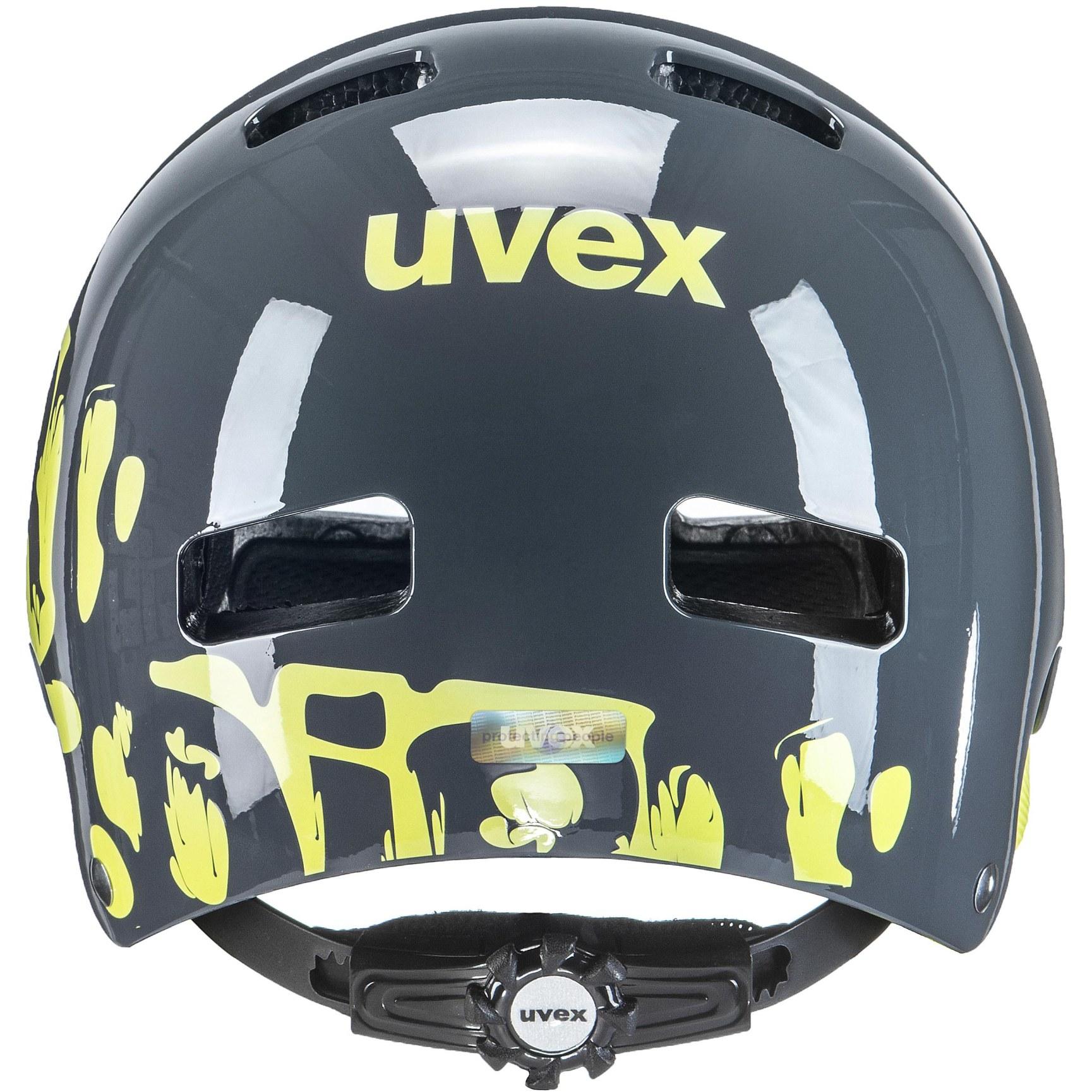 Bild von Uvex kid 3 Kinderhelm - dirtbike grey-lime