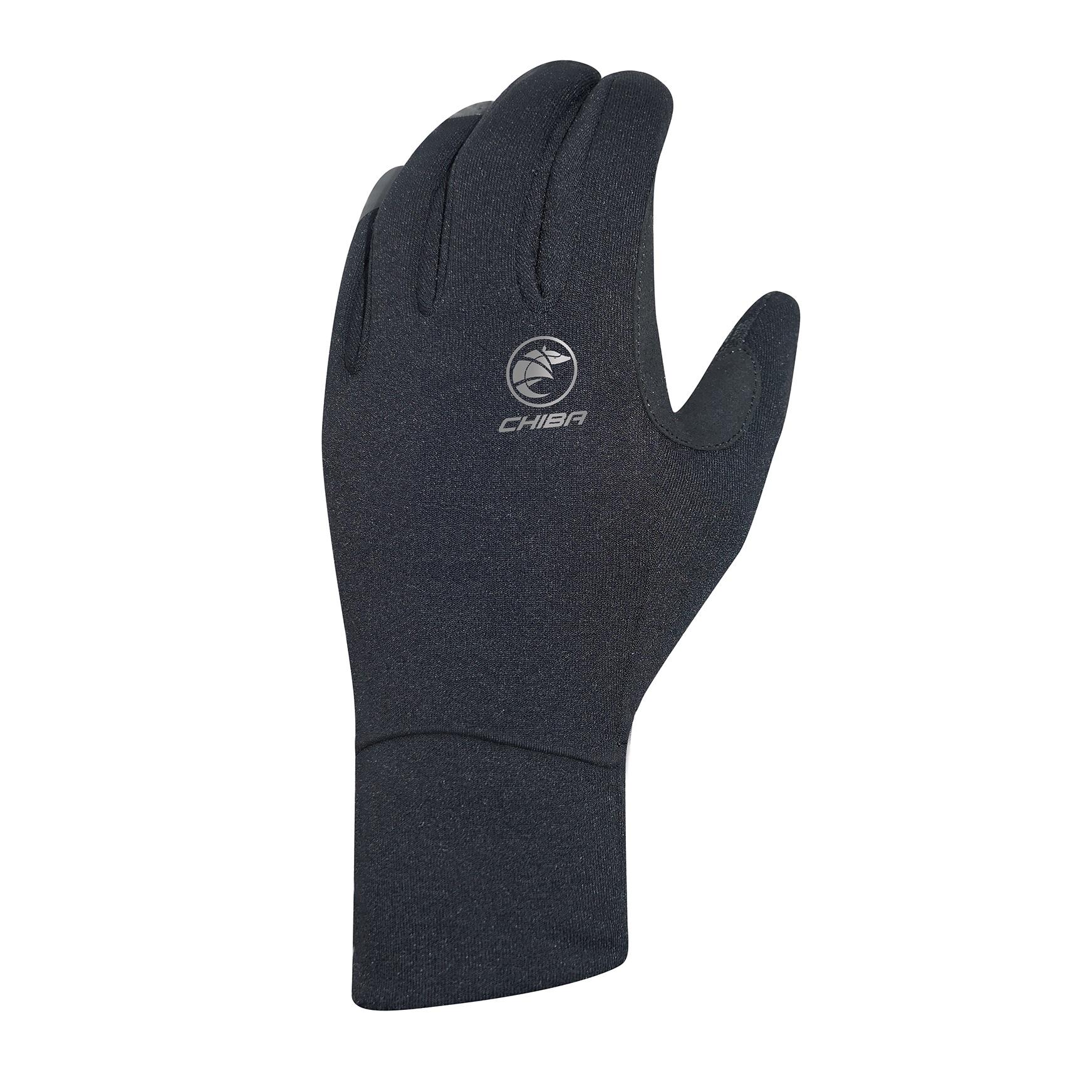 Picture of Chiba Polarfleece Bike Gloves - black