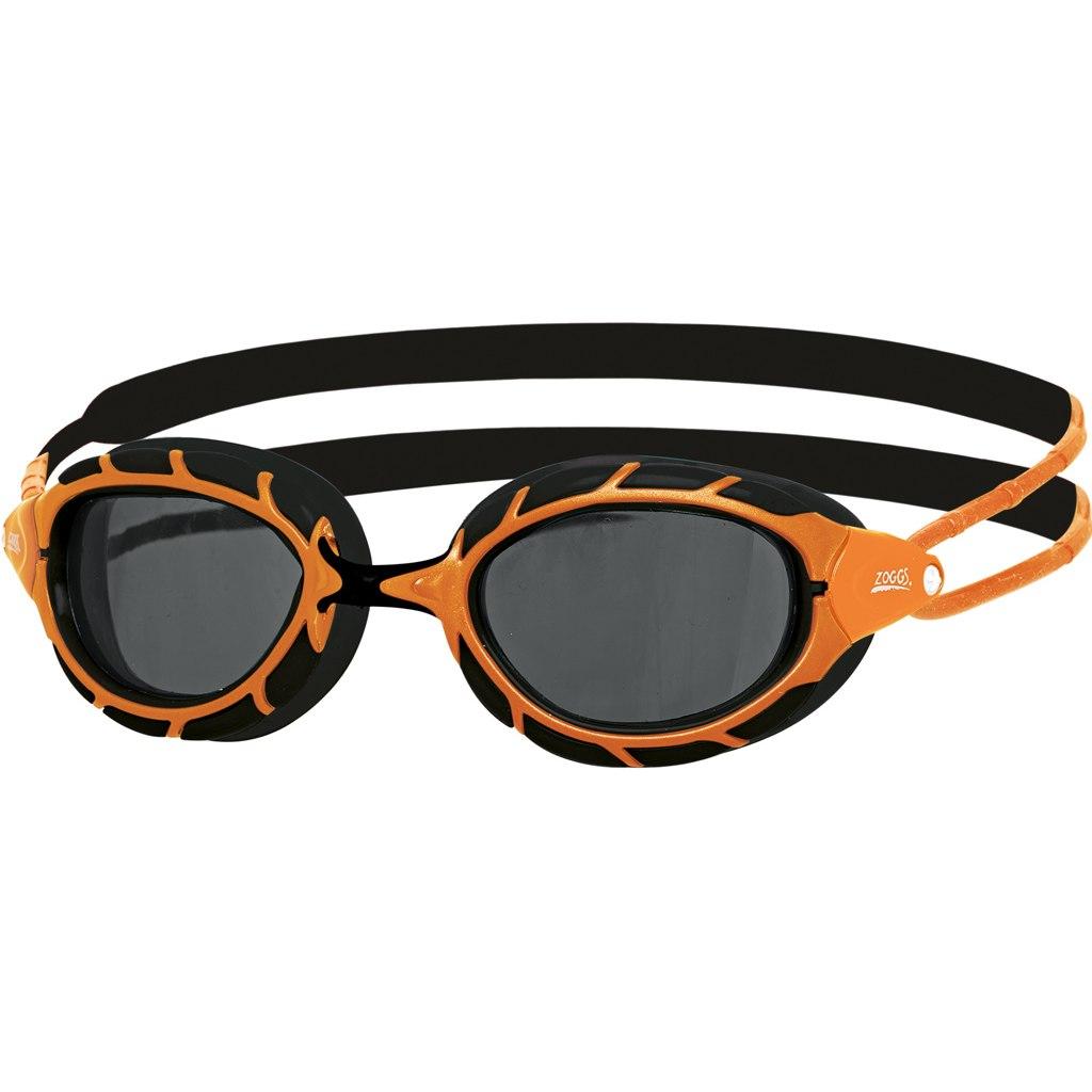 Zoggs Predator Polarized Schwimmbrille - orange/schwarz/smoke