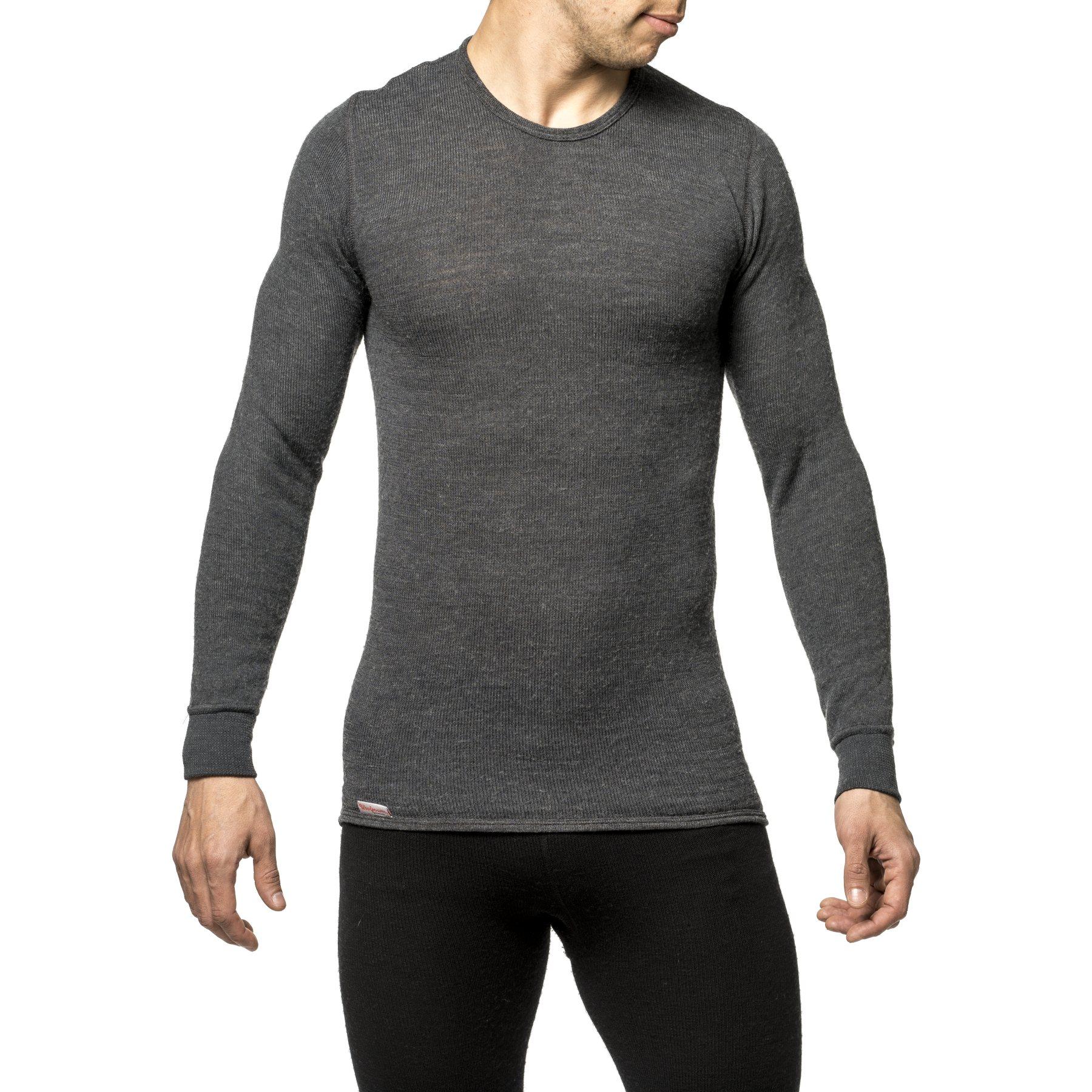 Woolpower Crewneck 200 Unisex Undershirt - grey
