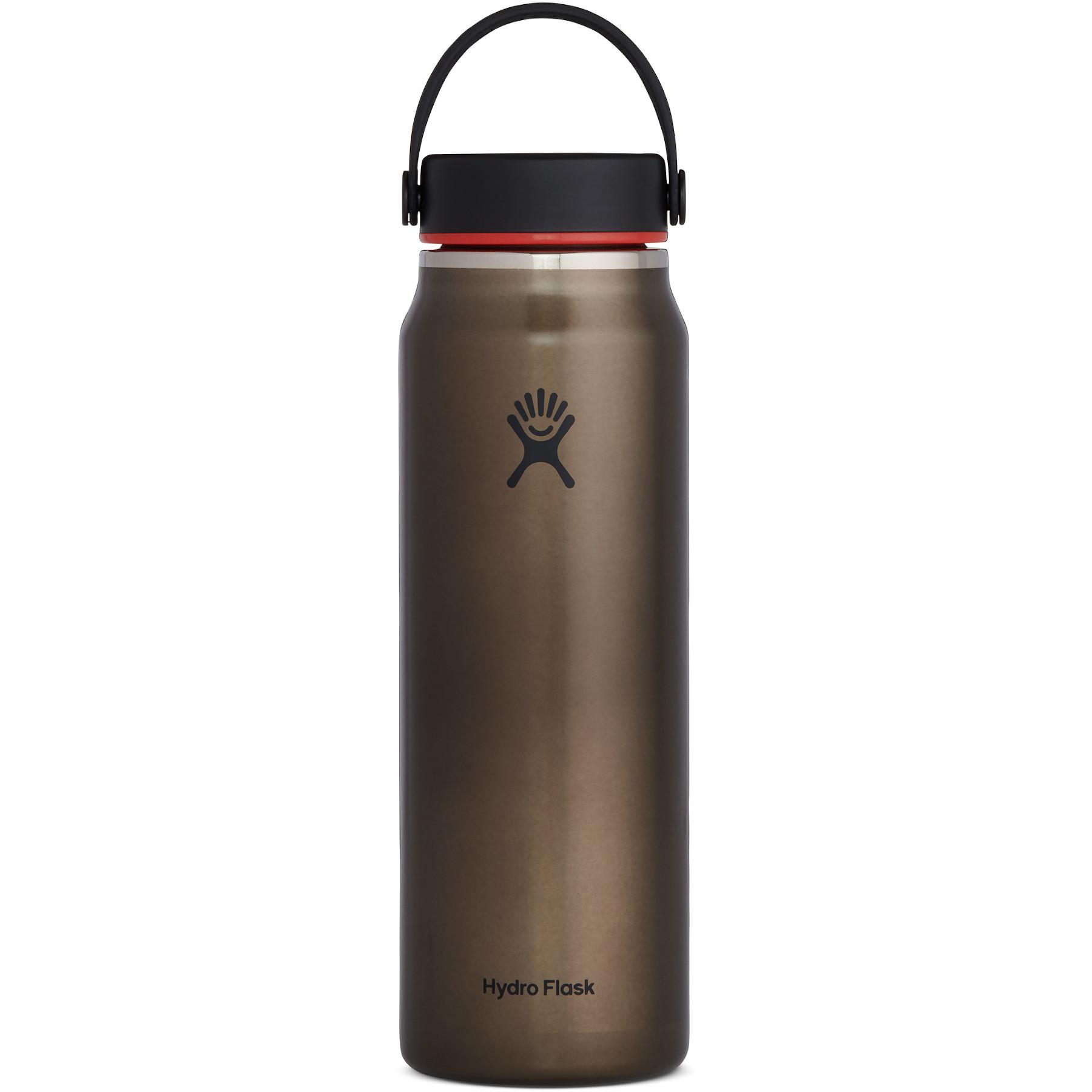 Bild von Hydro Flask 32 oz Lightweight Wide Mouth Trail Series Thermoflasche 946 ml - Obsidian