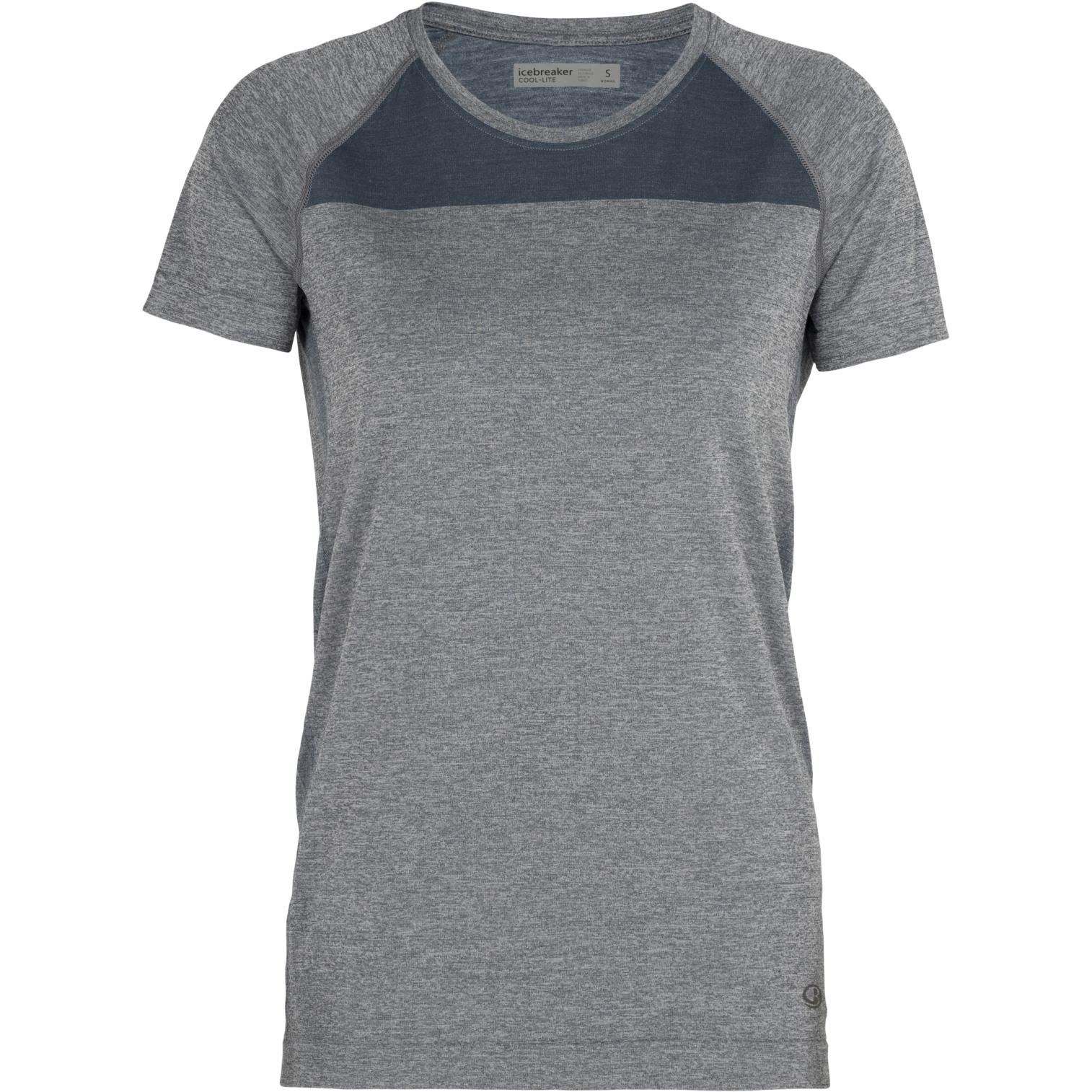 Produktbild von Icebreaker Motion Seamless Crewe Damen T-Shirt - Serene Blue