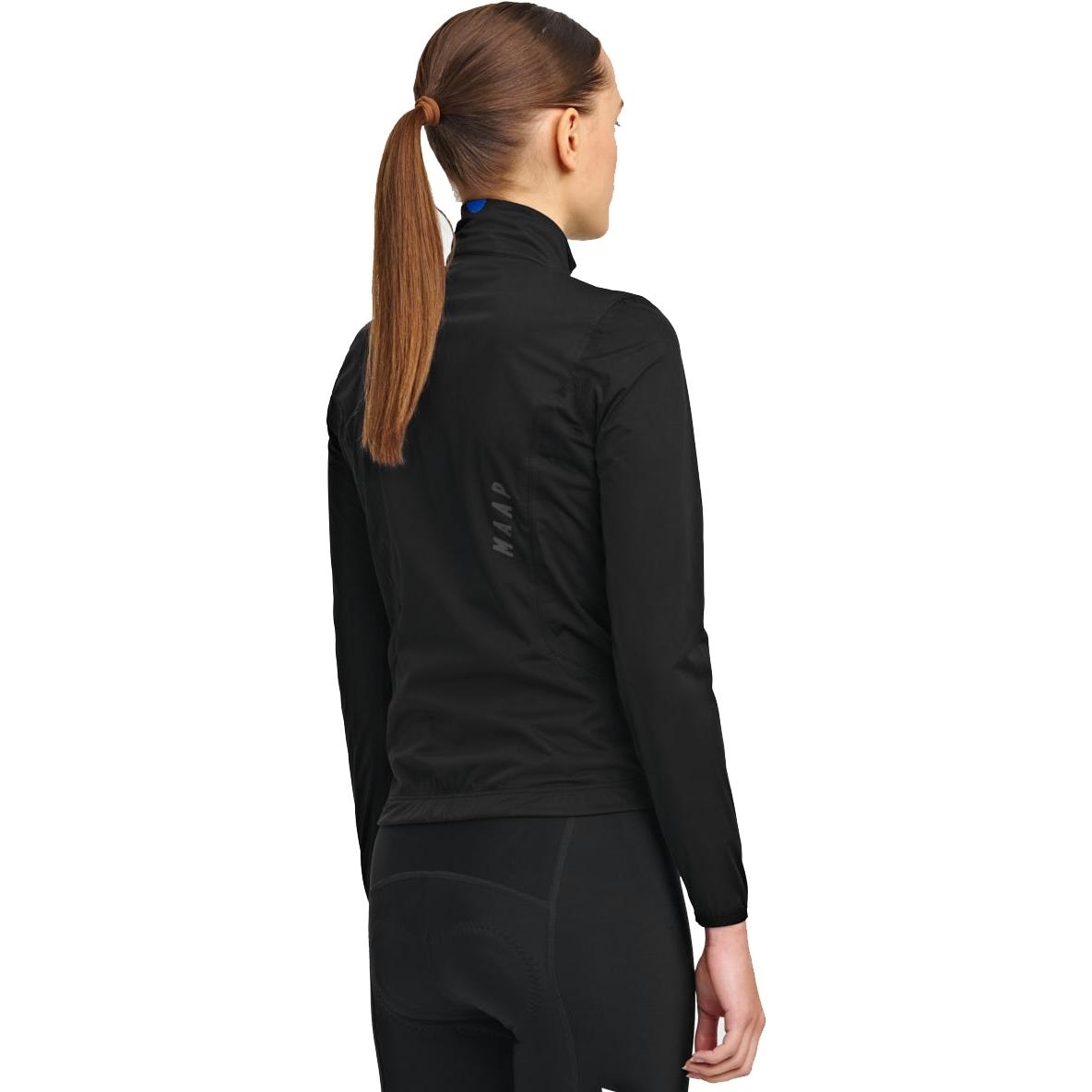 Image of MAAP Women's Unite Team Rain Jacket - black