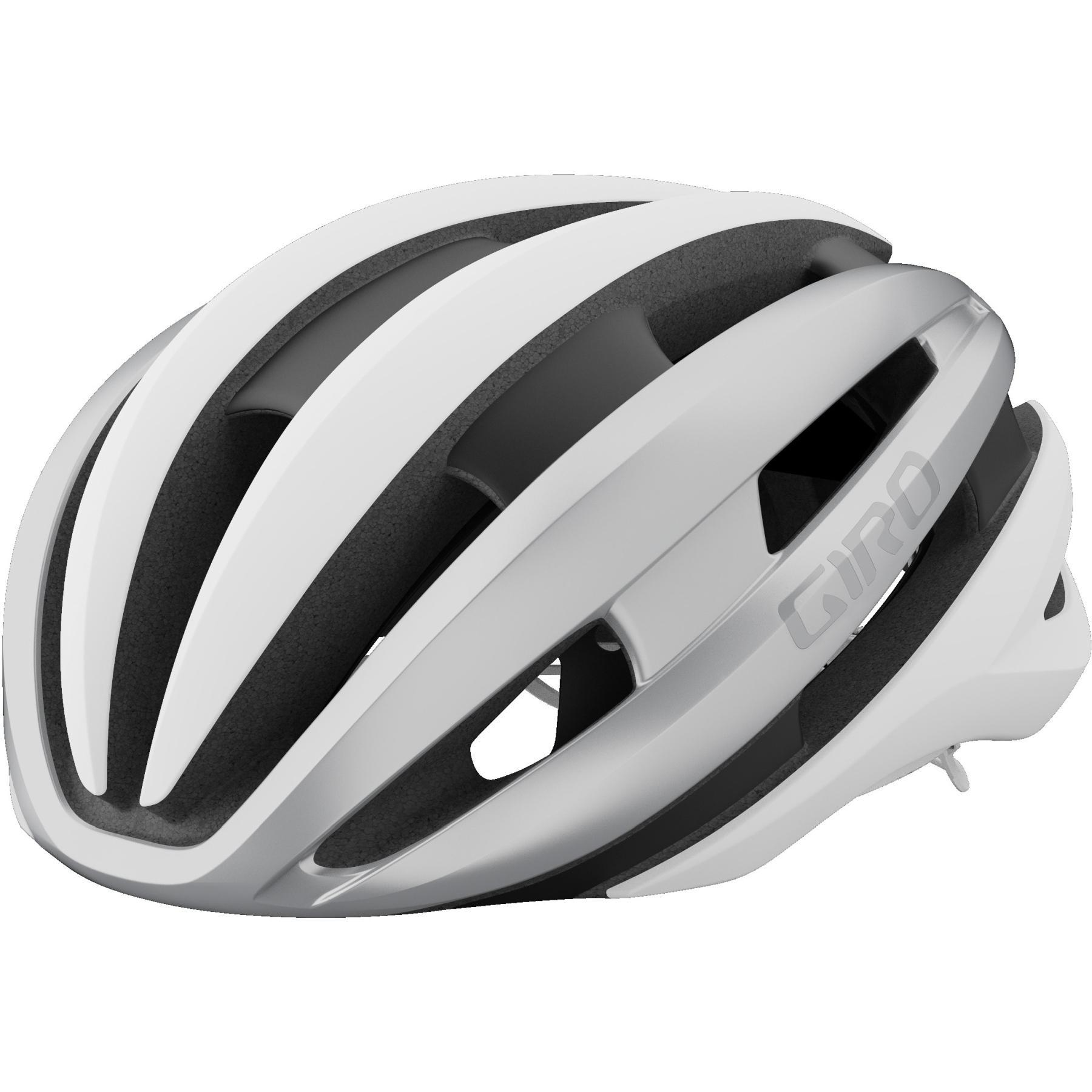 Giro Synthe MIPS II Helm - matte white / silver