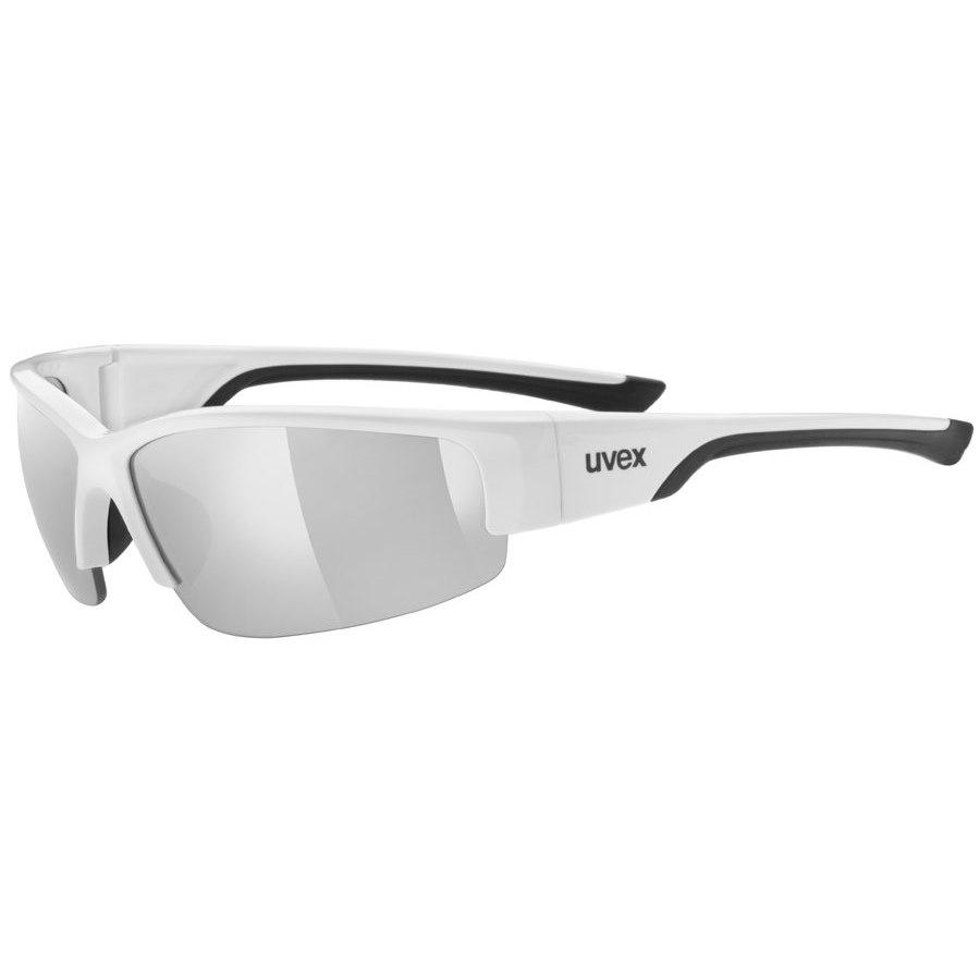Uvex sportstyle 215 - white black/litemirror silver Brille