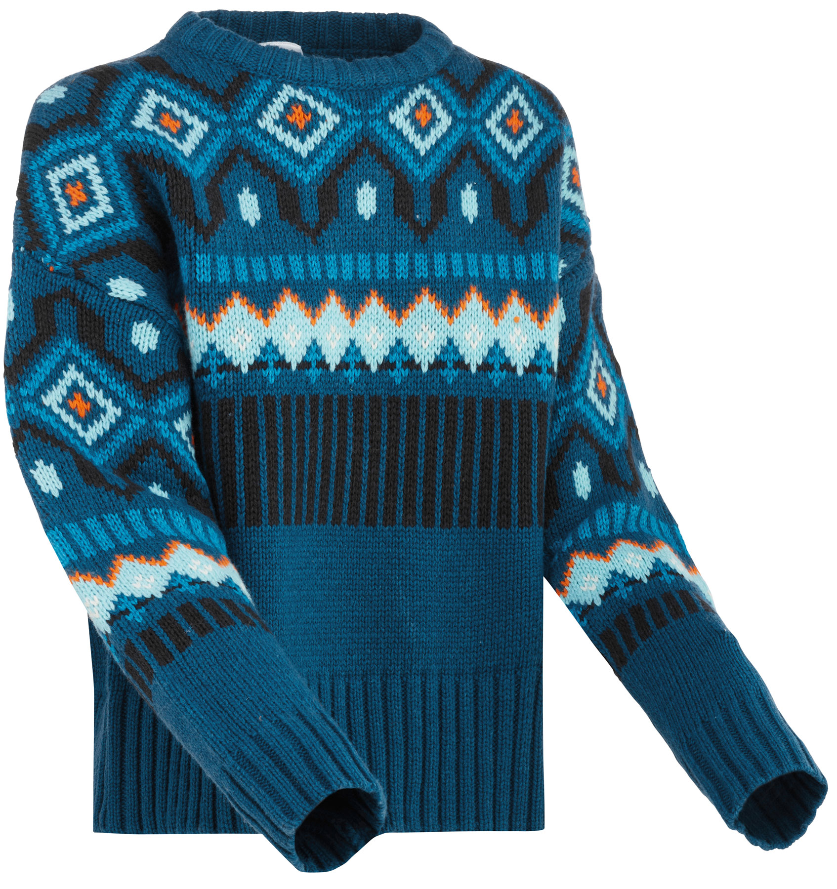 Kari Traa Mølster Knit Women's Pullover - ocean