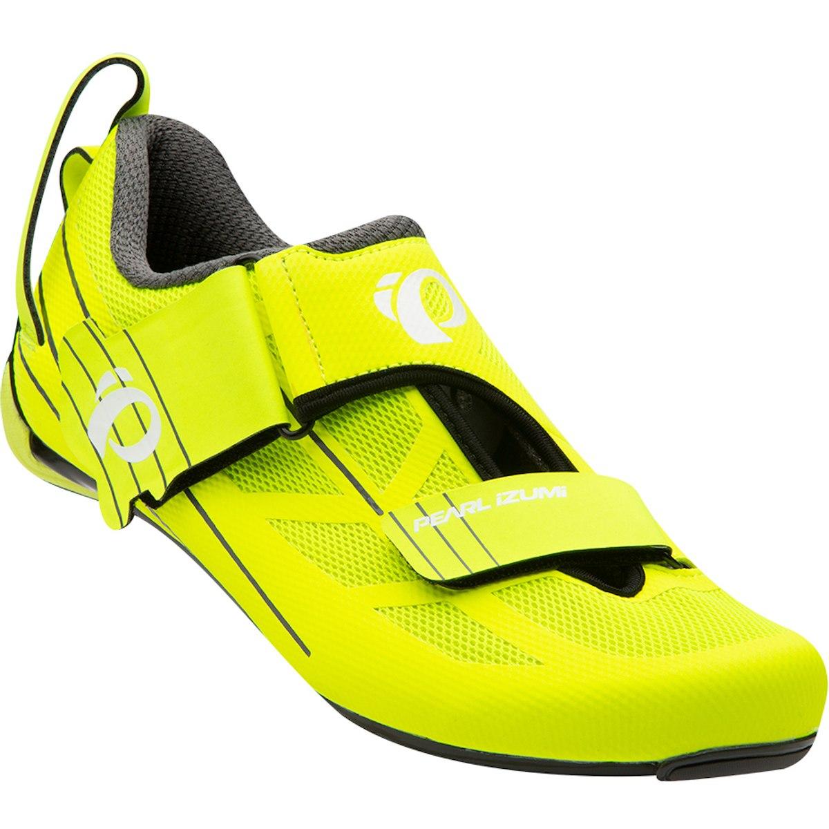 Produktbild von PEARL iZUMi Men's Tri Fly SELECT v6 Triathlonschuh 15117003 - screaming yellow / black 429