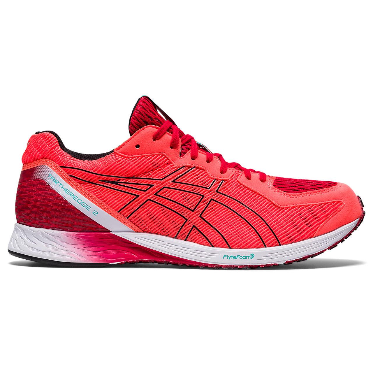 asics Tatheredge 2 Running Shoe - sunrise red/black