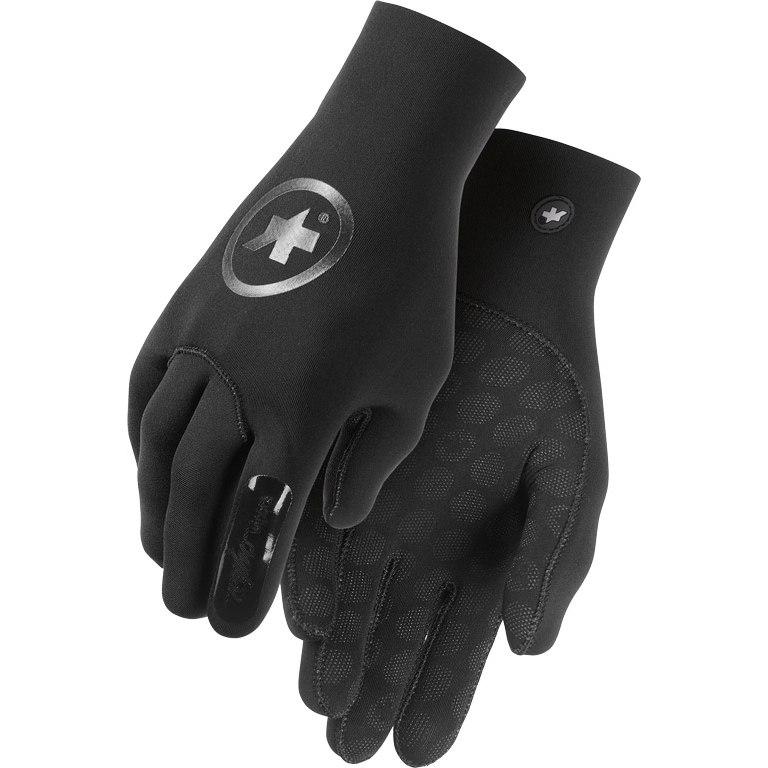 Assos ASSOSOIRES RainGloves Evo7 Gloves - blackSeries blackVolkanga