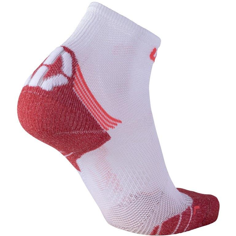 Image of UYN Run Superleggera Socks Women - White/Coral