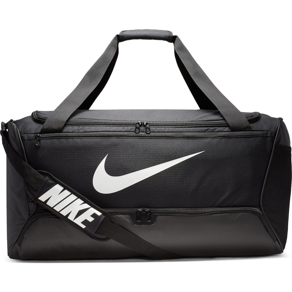 Produktbild von Nike Brasilia Large Duffel Bag Sporttasche - 95L - black/black/white BA5966-010