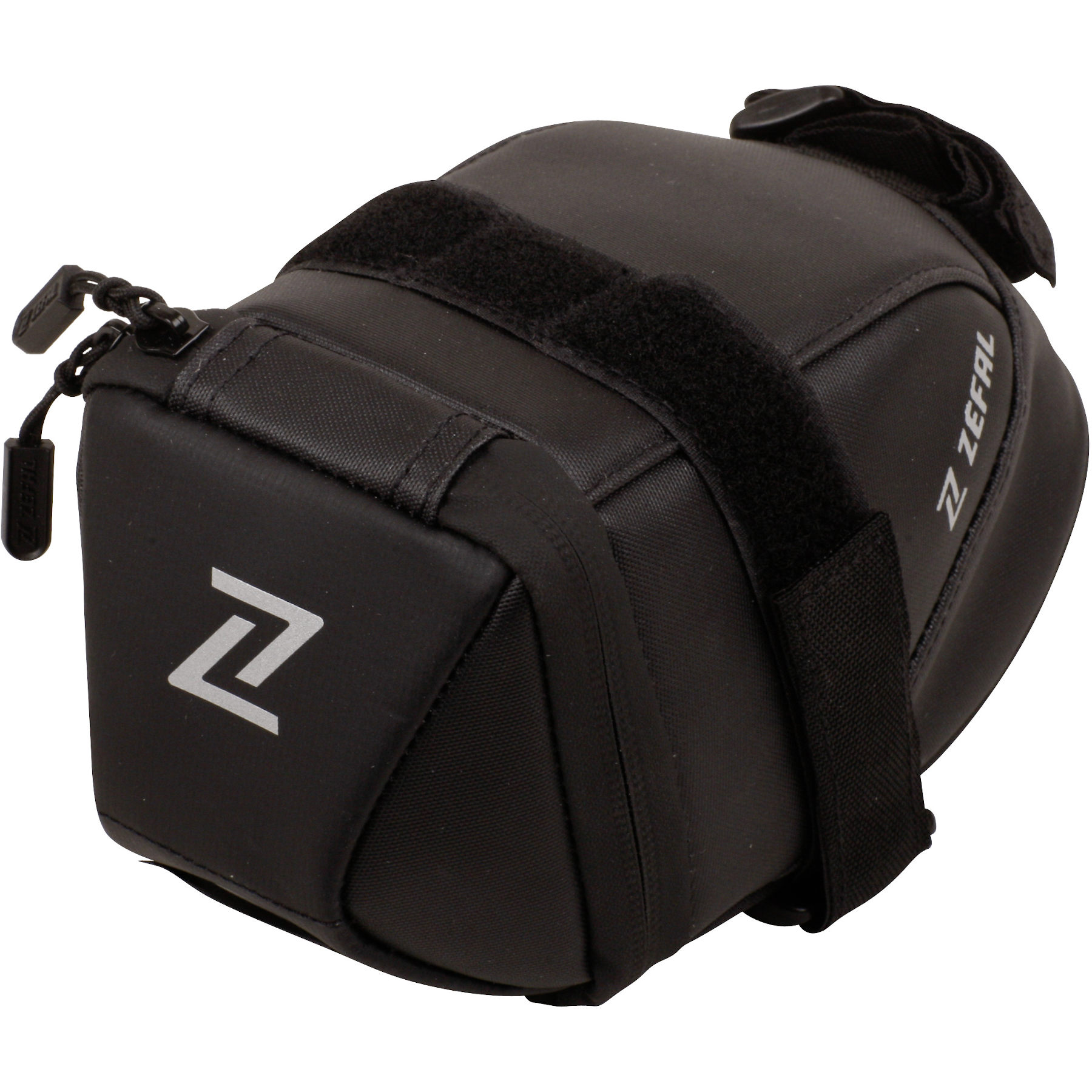 Zéfal Iron Pack 2 M-DS Saddle Bag 0.9 l - black