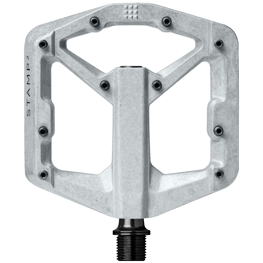Picture of Crankbrothers Stamp 2 Flat Pedal - small - raw silver