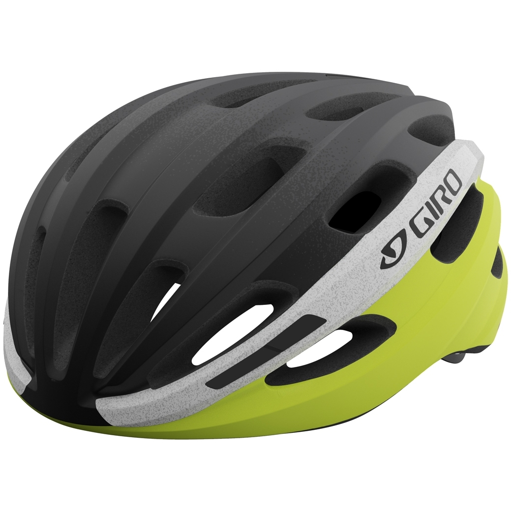 Giro Isode Helm - matte black fade / highlight yellow