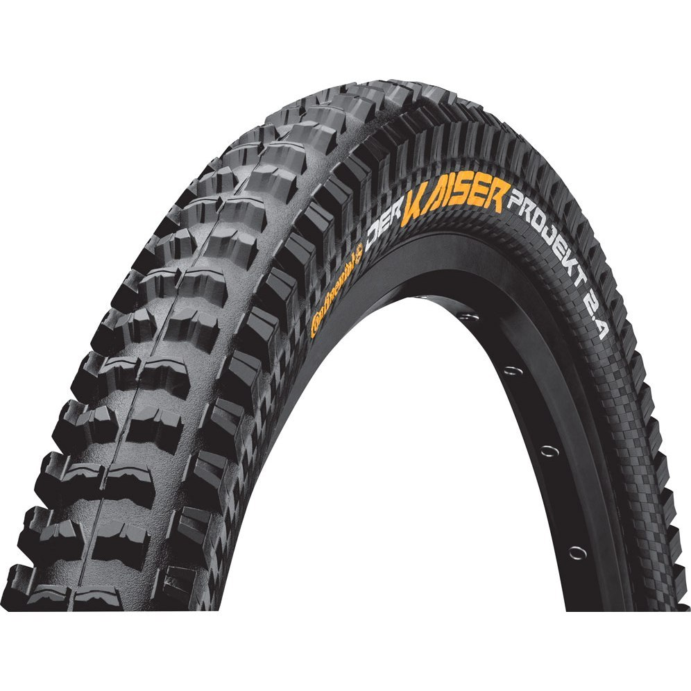 Continental Der Kaiser Projekt ProTection Apex - MTB Folding Tire - 27.5 x 2.4 Inch - black