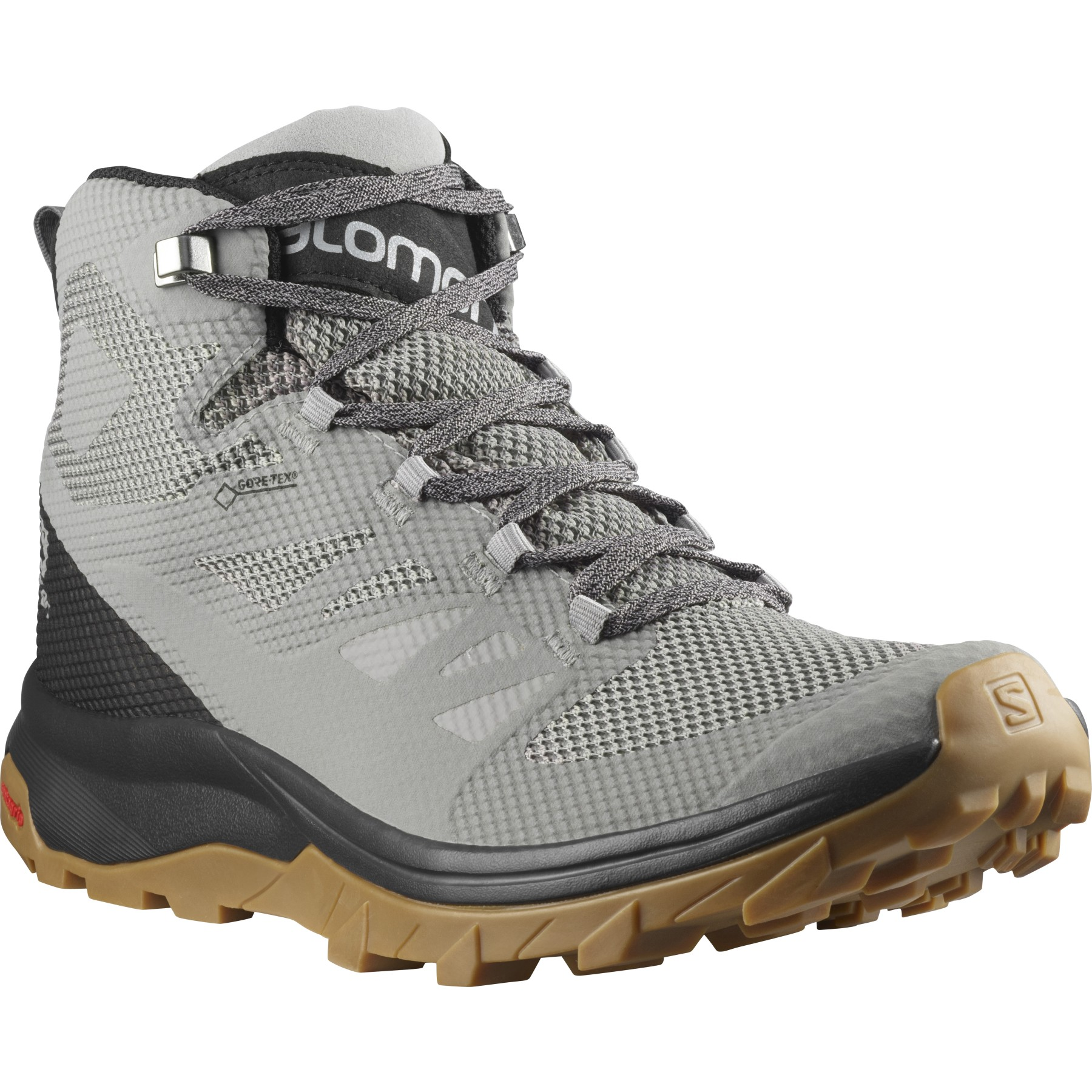 Salomon OUTline Mid GTX® Schuh - frost gray/black/alloy