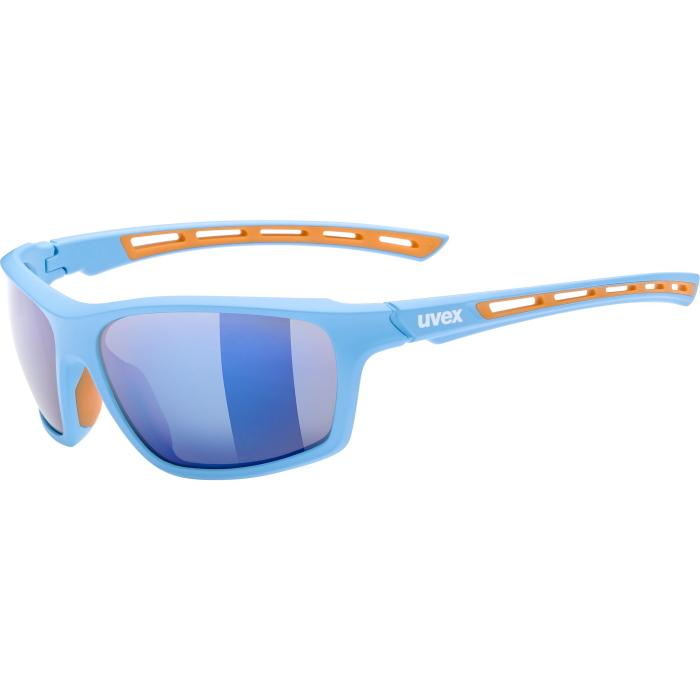 Uvex sportstyle 229 Glasses - blue - mirror blue