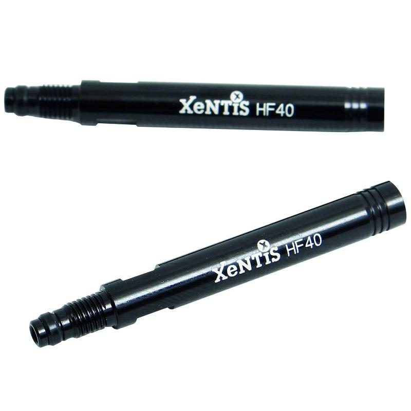 Image of Xentis Valve Extender Set (2 pcs.) - for Presta Valve - black