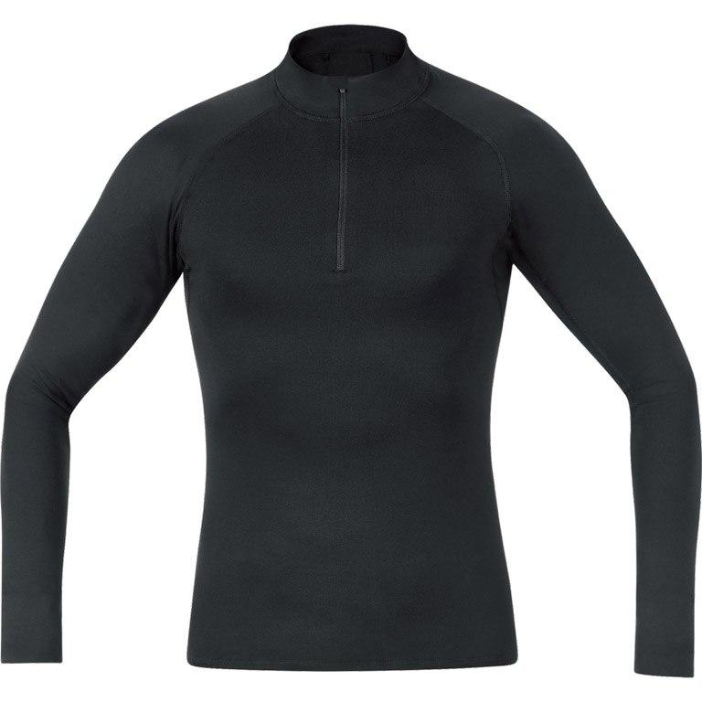 Produktbild von GORE Wear M Base Layer Thermo Stehkragenshirt - black 9900